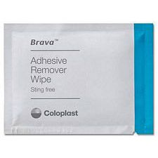Coloplast Brava Adhesive Remover Wipes (30/Box)