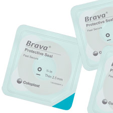 Coloplast Brava Protective Seal with 3/4 Opening (10/Box)