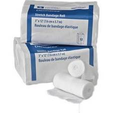 Dermacea Stretch Bandage Roll - 4 in. x 4.1 yards (Non-Sterile) (12/Box)