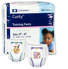 Covidien Pull Up Training Diapers - Size 2T-3T (26/Pack)