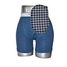 C&S Ostomy Pouch Covers - Blue Plaid