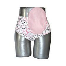 C&S Ostomy Pouch Covers - Satin Blush Pink