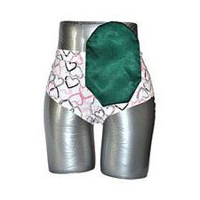 C&S Ostomy Pouch Covers - Satin Green