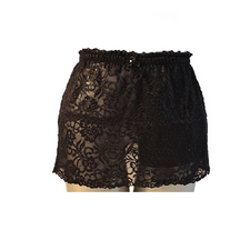 C&S Ostomy Pouch Covers - Black Lace Callie