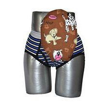 C&S Ostomy Pouch Covers - Doggies Print for Boys