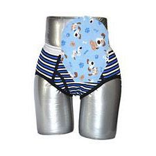 C&S Ostomy Pouch Covers - Dog Print for Boys