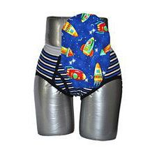C&S Ostomy Pouch Covers - Rockets Print for Boys