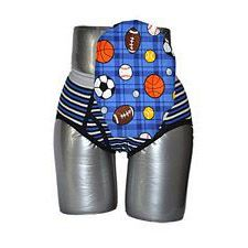 C&S Ostomy Pouch Covers - Sports Print for Boys