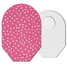 C&S Ostomy Pouch Covers - Pink Polka Dot