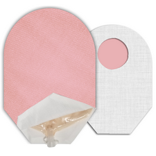 C&S Ostomy Pouch Covers - Pink Ostomy Pouch Cover (Open End)