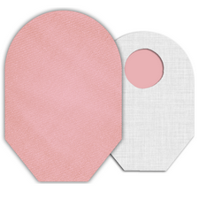 C&S Ostomy Pouch Covers - Pink Ostomy Pouch Cover