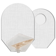 C&S Ostomy Pouch Covers - White Ostomy Pouch Cover (Open End)