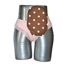 C&S Ostomy Pouch Covers - Sassy Brown with Pink Polka Dots