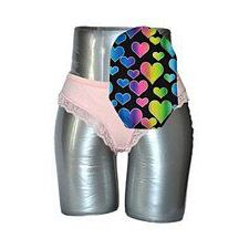 C&S Ostomy Pouch Covers - Sassy Rainbow Heart