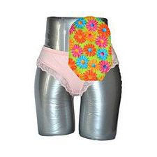 C&S Ostomy Pouch Covers - Sassy Flowers