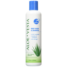 ConvaTec Aloe Vesta 2-n-1 Body Wash/Shampoo - 8 Oz.