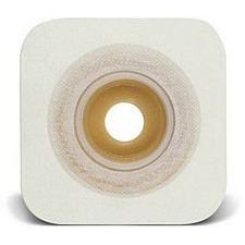 SUR-FIT Natura Durahesive Moldable Convex Skin Barrier with Flange 4 1/2 x 4 1/2 in. (10/Box)