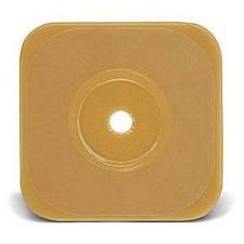 Esteem Synergy 6 x 6 in. Stomahesive Skin Barrier w/o Tape Collar (Cut-to-fit up to 3-1/2 in.)