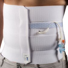 Dale® Abdominal Binder - 4 Panels Stretches 46-62in.