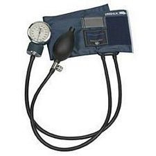 Precision Aneroid Sphygmomanometer with Blue Nylon Cuff