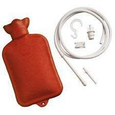 Combination Douche & Enema System with 1-1/2 Quart Water Bottle