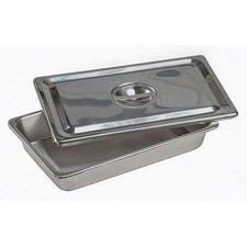 Stainless Steel Catheter and Instrument Tray with Cover
