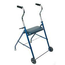 Steel Walker with Wheels and Seat