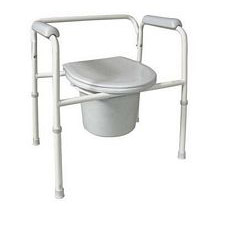 Commode Steel Adjustable Setup