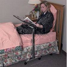 Deluxe Heavy-Duty Over Bed Tilt-Top Table