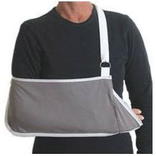 Pocket Style Arm Sling, Hook & Loop Adjustment - Adult