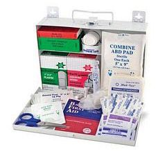 First Aid Kit with Metal Case (25 person)
