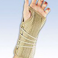 Soft Fit Suede Wrist Brace