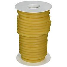 Graham Field Latex Tubing, Amber, 1/4 in. I.D., 3/8 O.D., 1/16 in. Wall (50 Ft.)