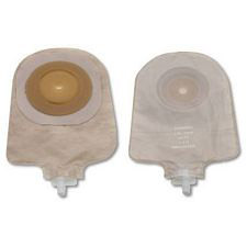 Premier Urostomy Pouch w/ Convex Flextend Skin Barrier and Tape - Transparent (Cut-to-Fit)