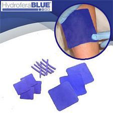 Hydrofera Blue Foam Island with Film 4 x 4.75 in. (2 x 2.75 in. pad)