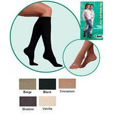 JUZO Soft Thigh-High Stocking w/ Border - 30-40mmhg (Open Toe)