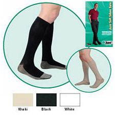 JUZO Soft Silver Sole Ribbed Stocking - 20-30mmhg (Closed Toe)