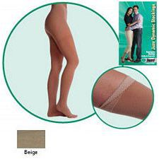JUZO Dynamic Thigh-High Stockings w/ Right Hip Attachment - 30-40mmhg (Closed Toe)