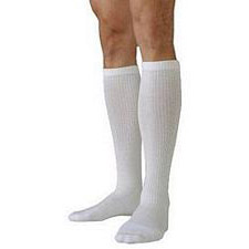 JUZO Basic Casual Knee-High Socks - 15-20mmhg (Closed Toe)