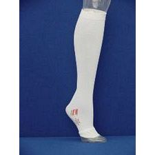 TED® Thigh Length Anti-Embolism w/ Inspection Toe Stocking - Medium - Short (White)