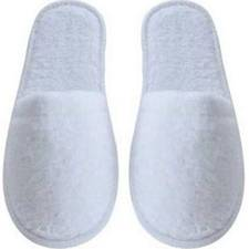 Non-Skid Terry Cloth Socks/Slippers - Mens Size 10-12 (48 Pair/Box)