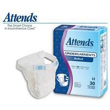 Attends Undergarments - Belted Style (28 in. Pads) (30/Box)