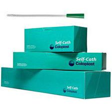 Coloplast Self-Cath Female Catheter - Straight Tip - Sterile - Latex-Free