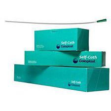Coloplast Self-Cath - Straight Tip, 16 in. Long, Funnel, Sterile, Latex-Free