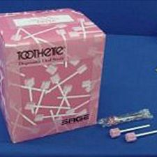 Oral Care Toothettes Swabs - Unflavored