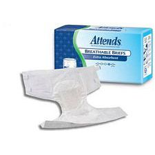 Attends Breathable Briefs - Extra Absorbent - Large (44 - 58 in.) (24/Box)