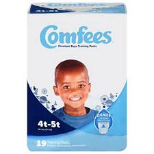 Comfees Training Pants for Boys - Size 4T-5T, 38+ Lbs (19/Pack)