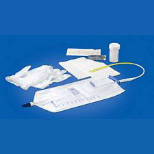 Rochester Magic3 Antibacterial Pre-Connected Uretheral Trays (16 in. / 14 Fr.)