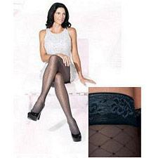 710 Allure Series - Womens Thigh-High w/ Grip Top Stockings - 15-20mmhg