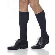 820 Midtown Microfiber Series - Mens Calf-High Stockings - 15-20mmhg